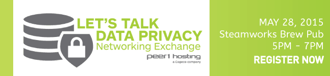 Peer 1 Hosting Data Privacy Networking Exchange