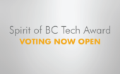 Cast Your Vote Now for the Spirit of BC Tech Award