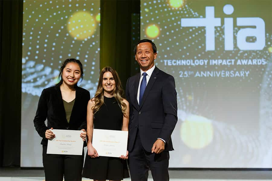 2018 Bill Tam Scholarship Winners